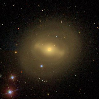 NGC 4596 barred spiral galaxy in the constellation Virgo