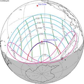 Solar eclipse of May 20, 2050