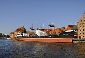SS Sołdek - SS Soldek as a museum ship in Gdansk