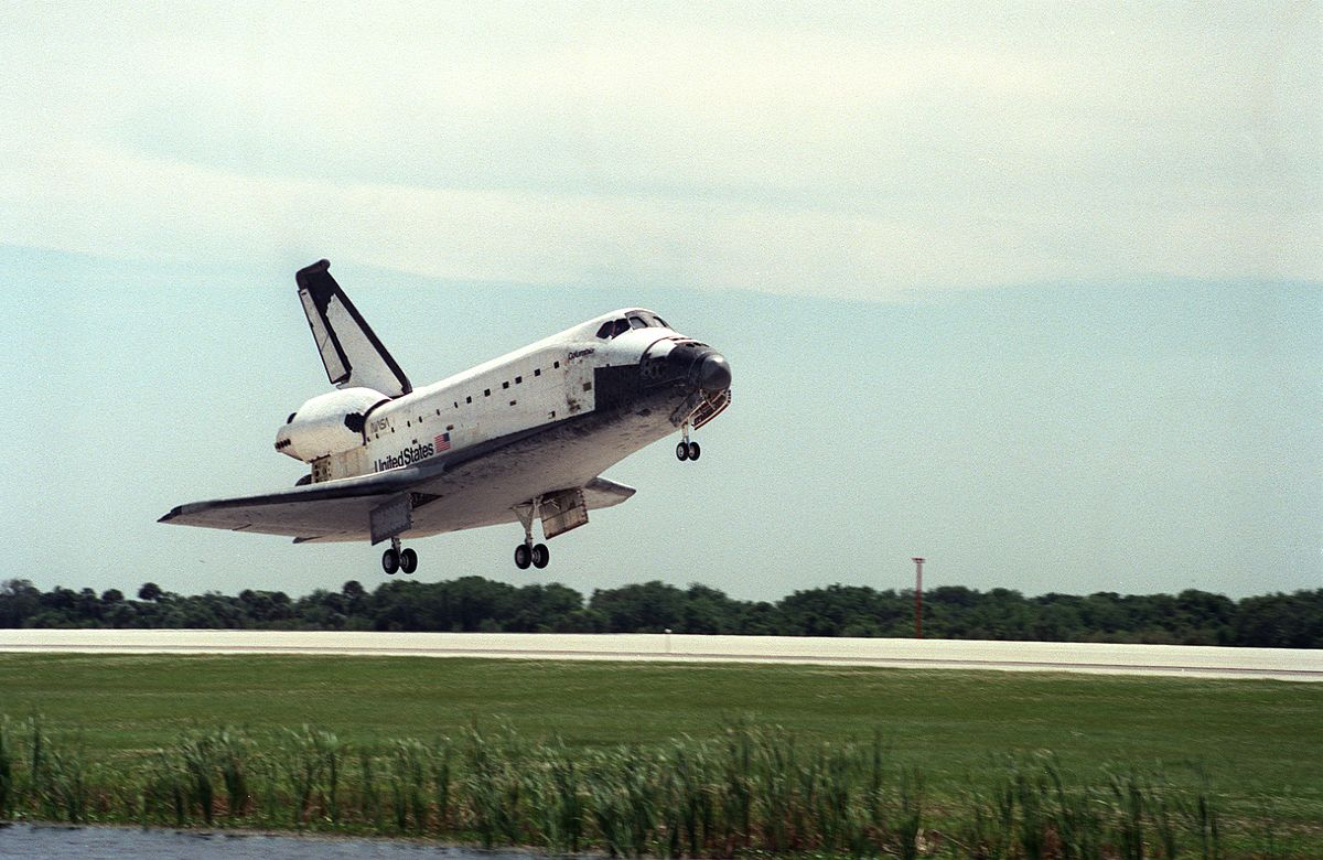 space shuttle landing distance - photo #45