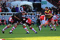ST vs Gloucester - Warm-up - 04.JPG