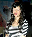 Saba Azad at the Audio release of 'Mujhse Fraaandship Karoge'.jpg