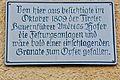 Sachsenburg Feistritz 7 Hasslacher Holzzentrum Andreas Hofer Gedenktafel 16012011 508.jpg
