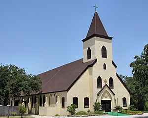 Rockne, Texas - Sacred Heart Catholic Church in Rockne, Texas