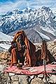 Sadhu in action at Ranipauwa, Nepal.jpg
