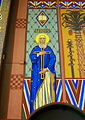 Saint Aloysius Catholic Church (Bowling Green, Ohio) - sanctuary mural, Fides.jpg