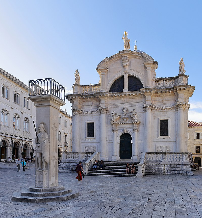 Saint Blaise's Church, Dubrovnik - September 2017.jpg