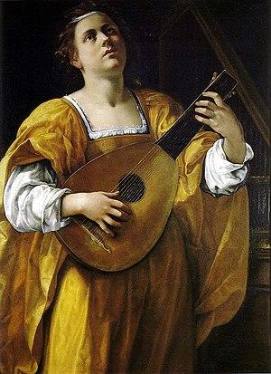 Saint Cecilia (Artemisia Gentileschi) - Wikipedia