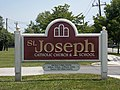 Saint Joseph's Catholic Church sign - Beltsville, Maryland.JPG