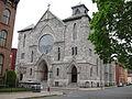 Saint Mary's Church (Troy, New York) - exterior, view from across the street).JPG