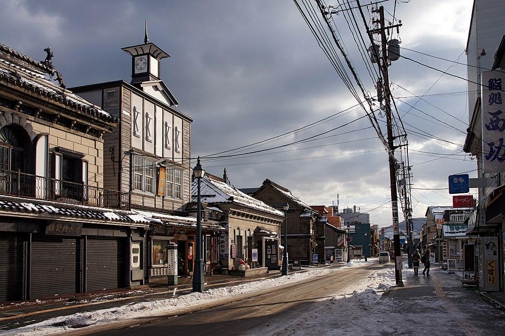 Sakaimachi street Otaru Hokkaido04bs3