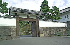 Tokugawa shogunate - Sakurada Gate at Edo Castle, the center of Tokugawa rule
