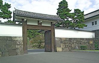 Tokugawa shogunate - Sakuradamon Gate of Edo Castle where Ii Naosuke was assassinated in 1860