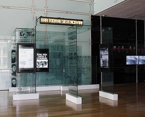 Sala 11 de septiembre del Museo de la Memoria3