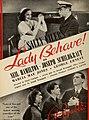 Sally Eilers in 'Lady Behave!', 1938.jpg