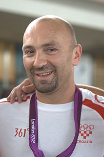 Samir Barać Croatian water polo player