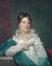 Mrs. Daniel de Saussure Bacot, an example of Morse's portraiture