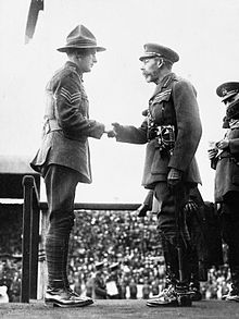 Samuel Frickleton VC and George V IWM Q 68299.jpg