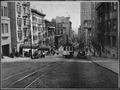 San Francisco's cable cars climbing the Powell Street hill, ca. 1945 - NARA - 535921.tif