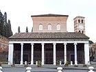 San Lorenzo fuori le mura - facade