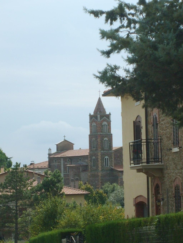 San Martino sul Fiora view