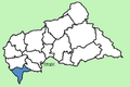 Sangha-Mbaéré Prefecture Central African Republic locator.png