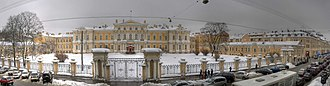 1757 in architecture - Vorontsov Palace (Saint Petersburg)