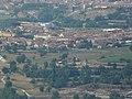 Sant Vicenç de Torelló vist des del mirador de Monserrat a la serra de Bellmunt - P1300381.jpg