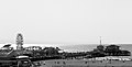 Santa Monica Pier Black and White View.jpg