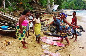 Santana Fishing Village Women.jpg