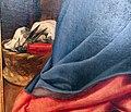 Santi di tito, sacra famiglia coi santi giovannino ed elisabetta, 1601, 06 cesta del cucito.JPG