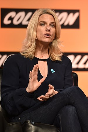 Sarah Kate Ellis - Ellis at the Collision 2017 conference in May 2017