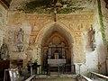 Sargé-sur-Braye (41) Église Saint-Martin Fresques Mur oriental 01.JPG