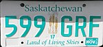 Saskatchewan 2010 License Plate .jpg