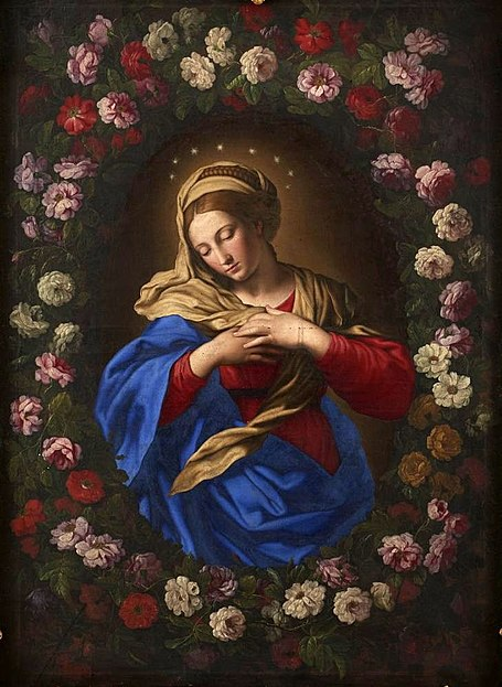 455px-Sassoferrato_Our_Lady_in_a_garland