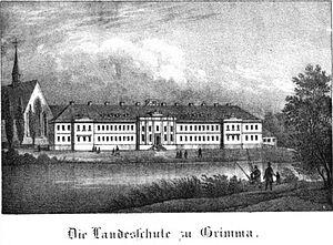 Gymnasium St. Augustine - Image: Saxonia Museum für saechsische Vaterlandskunde I 25