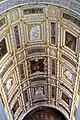 Scala d'oro, stucchi di alessandro vittoria con affreschi di g.b. franco, finita nel 1566, 04.JPG