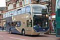 Scania N230UD - Alexander Dennis Enviro400 bus in Frideswide Square, Oxford, England.jpg