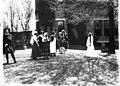 Scene in Oxford College production of 'The Piper' 1911 (3191599884).jpg