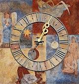 Schaffhausen - Schwabentor - Tower clock.jpg