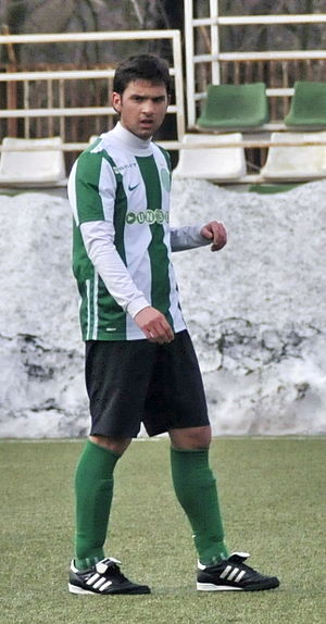 André Schembri - André Schembri in action for Ferencvarosi TC