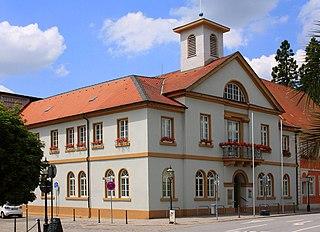 Schwetzingen Place in Baden-Württemberg, Germany