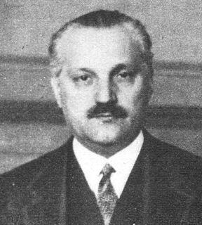 Béla Scitovszky Hungarian politician