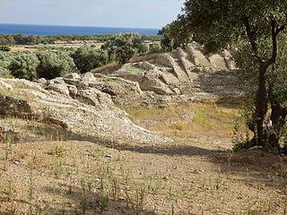 Scylletium human settlement in Borgia,  Calabria, Province of Catanzaro, Calabria, Italy
