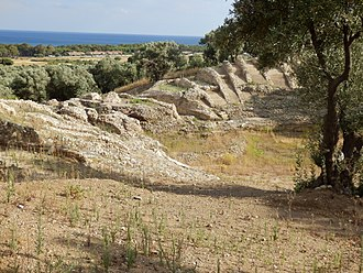 Scylletium - Remains of Amphithéâtres of Scolacium.