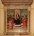 Scuola di ridolfo del ghirlandaio, madonna col bambino tra i ss. jacopo ed anna, 1514, 02.jpg