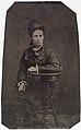 Seated woman in black dress, ca. 1856-1900. (4731905993).jpg