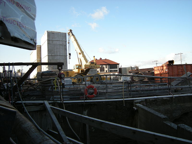 File:Seattle - Link Light Rail Beacon Hill Station under construction 01.jpg