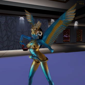 Culture of Second Life - A fantasy avatar in 2017