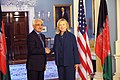 Secretary Clinton Meets With Afghan National Security Advisor Rangin Dadfar Spanta (6130331134).jpg
